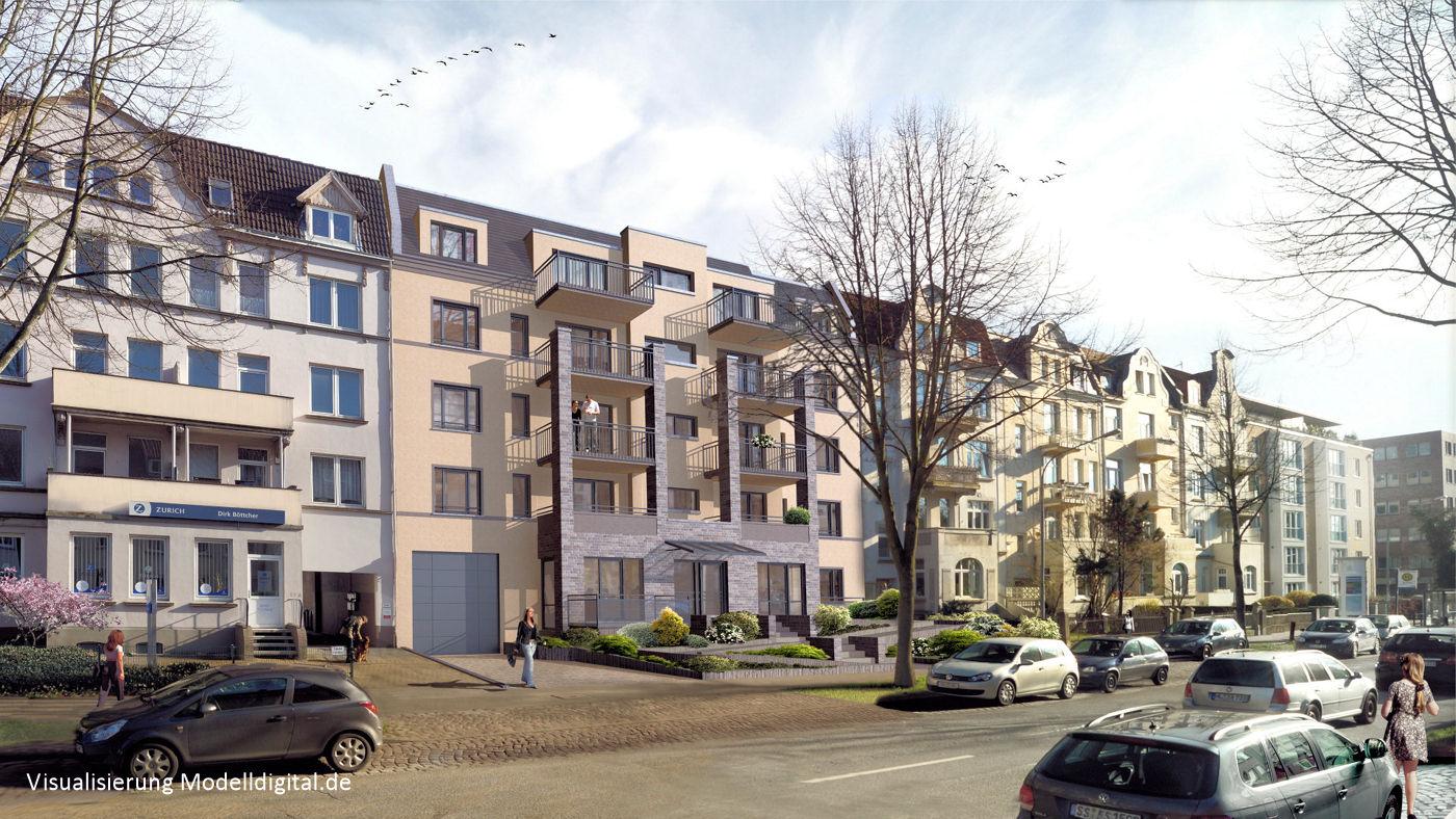 Architektur Lübeck architektur visualisierung in lübeck