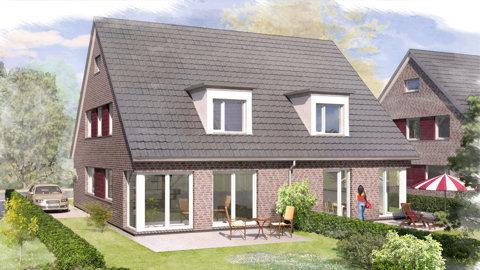 Modelldigital 3d architektur visualisierung wohnungsbau for Einfamilienhaus modelle