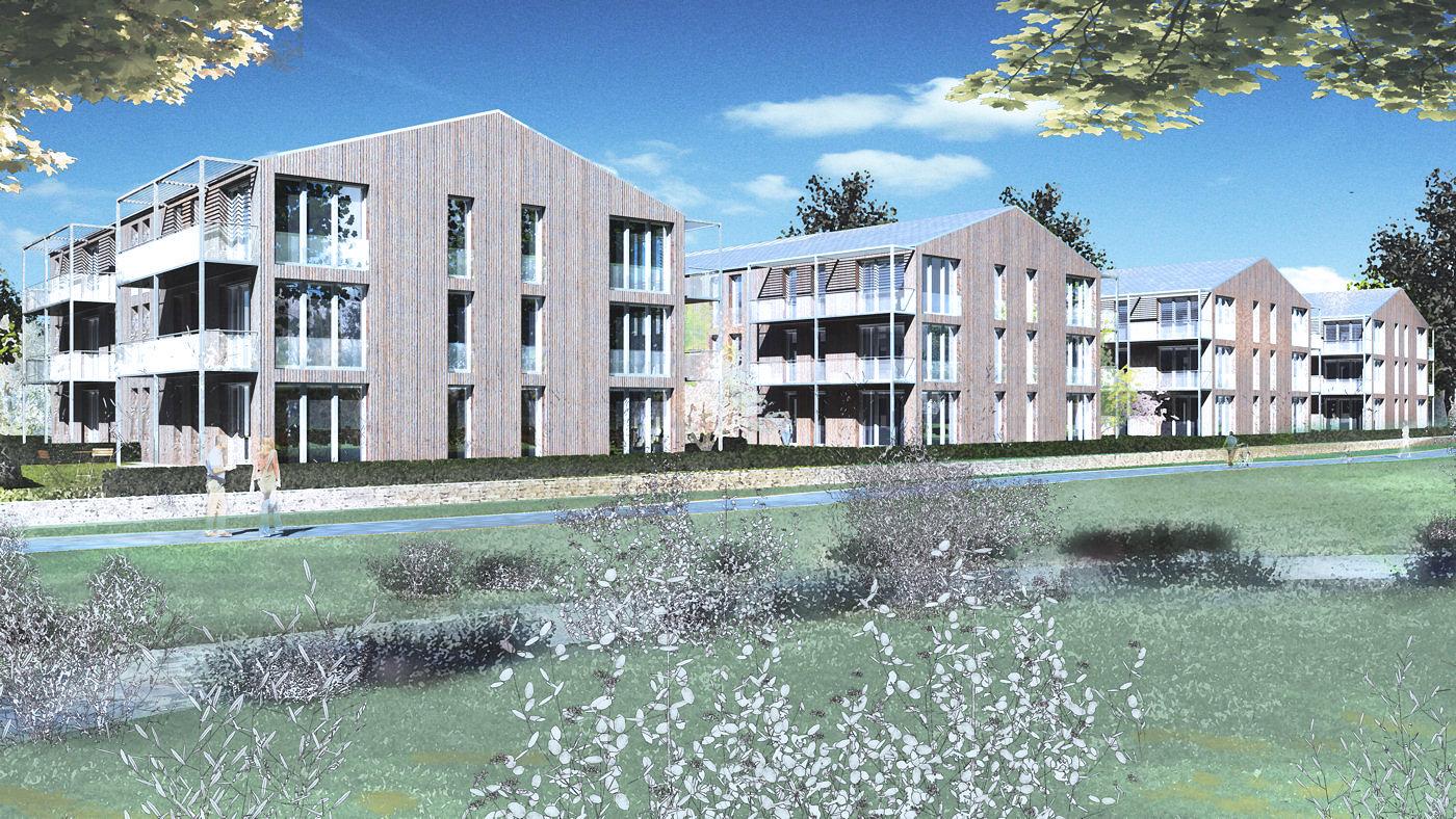 Architekturvisualisierung Stuttgart 3d architekturvisualisierungen aktuell modell animation bild