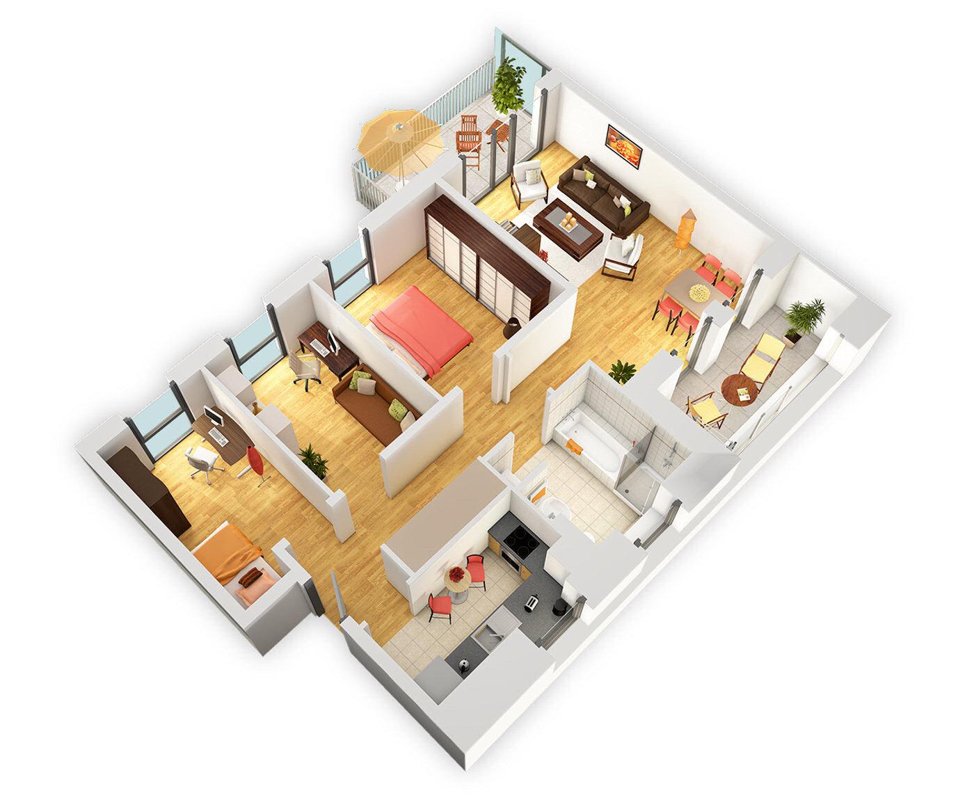 Kontakt 3d grundrisse gewerbe öffentl bauten 3d wohnungsbau 3d