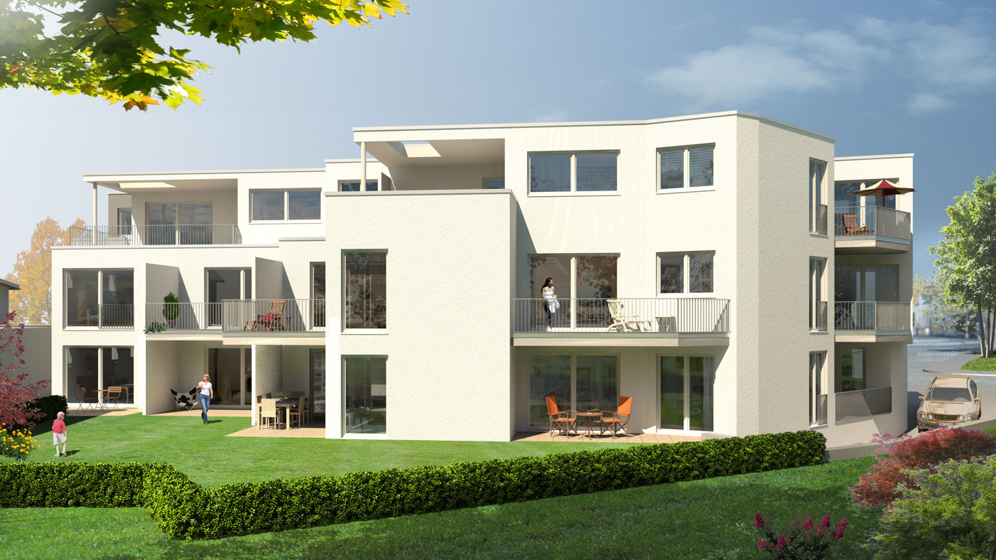 3d architektur visualisierungen illustration