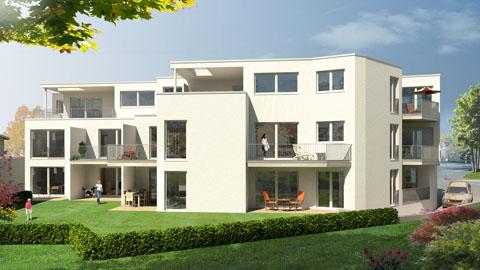 Architekt Detmold 3d architektur visualisierungen illustration