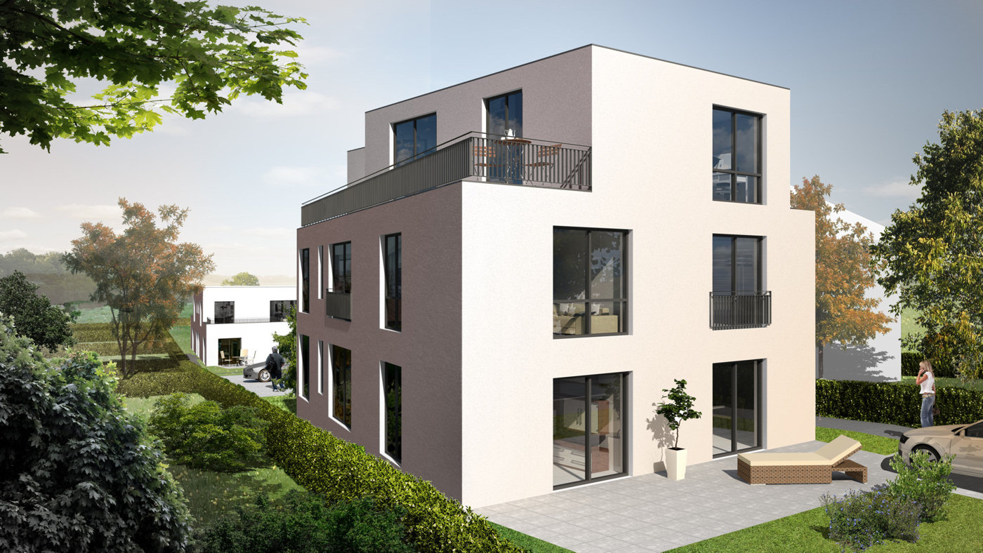 3d architektur visualisierungen illustration - Architekturvisualisierung hamburg ...