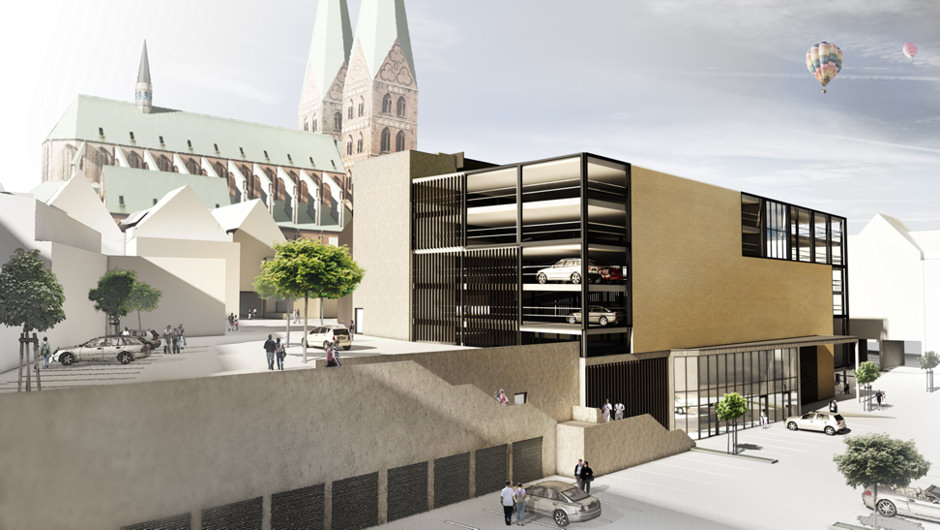 Architektur Lübeck 3d architektur visualisierungen illustration