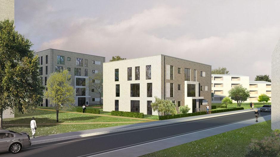 3d Visualisierung Hamburg modelldigital 3d architektur visualisierung wohnungsbau 3d modell